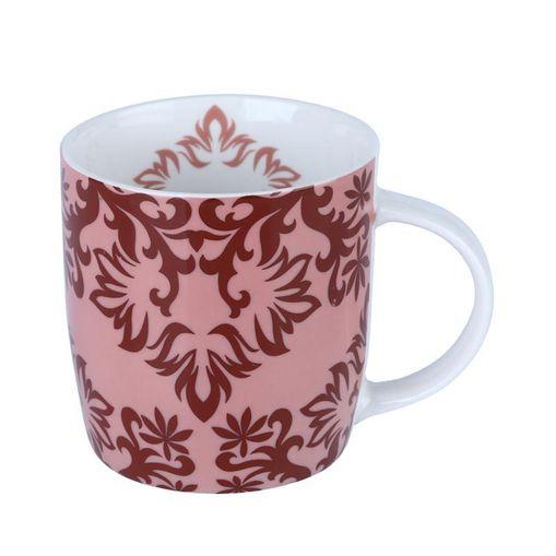 Caneca de Porcelana Rosa 350ml Provence 8244 Lyor