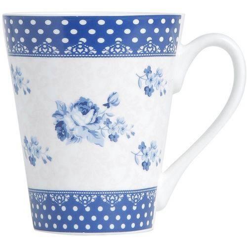 Caneca em Porcelana Azul Slim Elsa 2167 Lyor