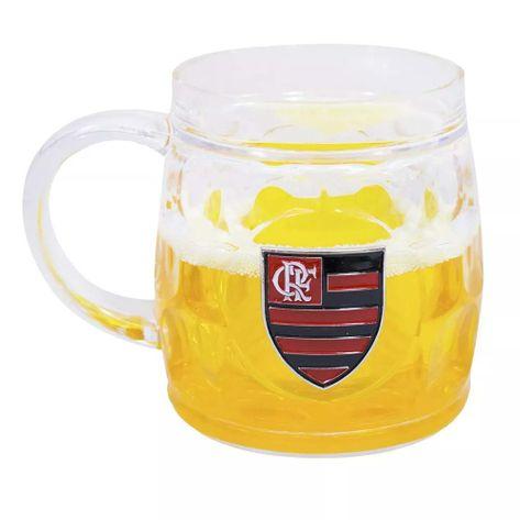 Caneca Flamengo de Cerveja 400 Ml UN