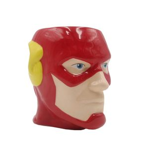 Caneca Formata Face Flash DC Comics