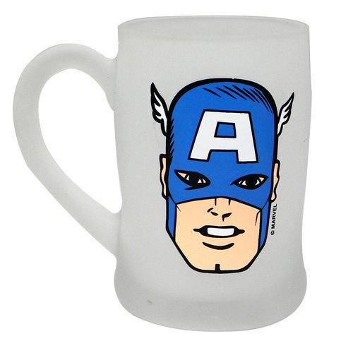 Caneca Fosca Capitão América - Azul