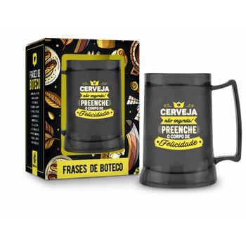 Caneca Gel 300ml Temas - Funny - Cerveja não Engorda
