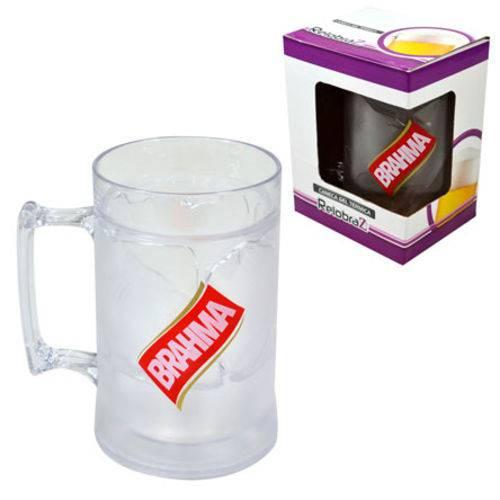 Caneca Gel Gift Brahma Cristal 450 Ml