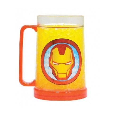 Caneca Gelo 400Ml Iron Man Armored