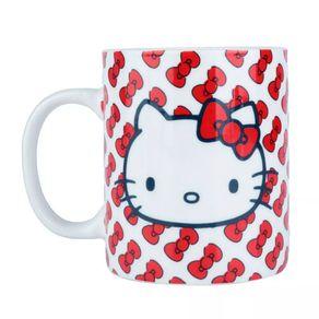 Caneca Hello Kitty Laço Vermelho