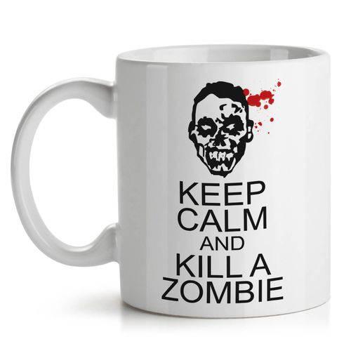 Caneca Keep Calm And Kill a Zombie