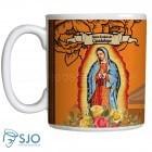 Caneca Nossa Senhora de Guadalupe com Oração | SJO Artigos Religiosos