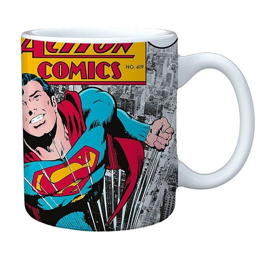 Caneca Porcelana New Dc Superman Action 75006599 Urban