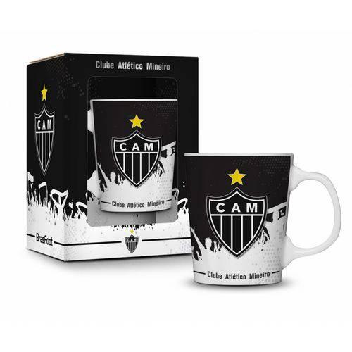 Caneca Porcelana Premium Atlético Mineiro 280ml Presente