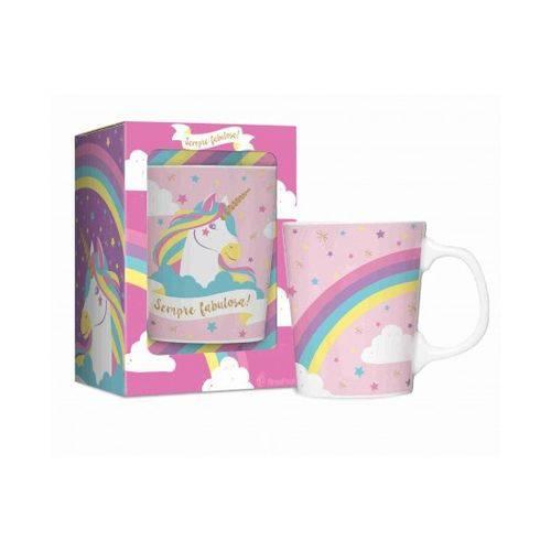 Caneca Porcelana Premium - Bichinhos - Unicórnio 2