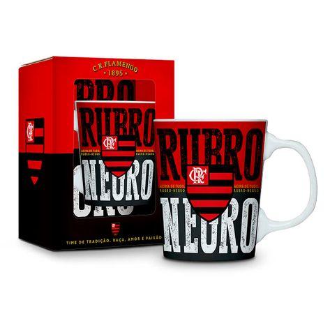 Caneca Porcelana Premium Flamengo UN