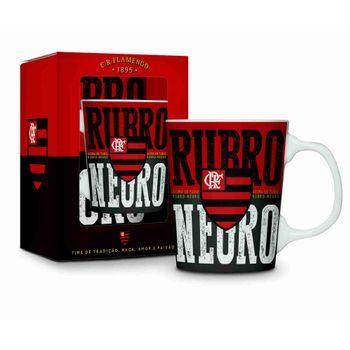 Caneca Porcelana Premium - Flamengo