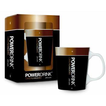 Caneca Porcelana Premium - Funny - Power Drink