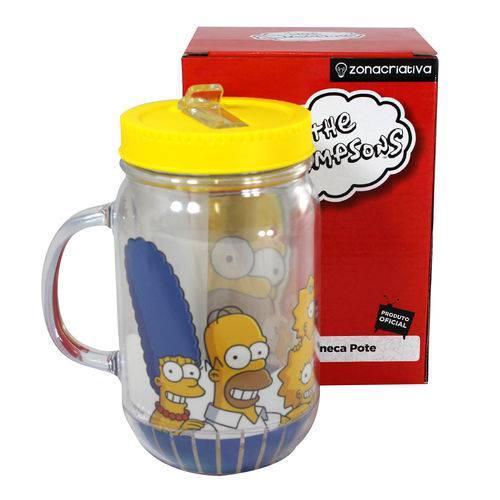 Caneca Pote Família Simpsons 10022478