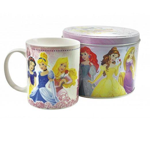Caneca 3 Princesas Bca Neve/Cinderela/Aurora Lata Lilas F190-Ps8 Minas