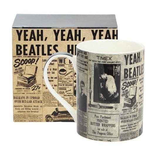 Caneca Reta Beatles Journal Dreams Mug 10020911 Z-Criativa
