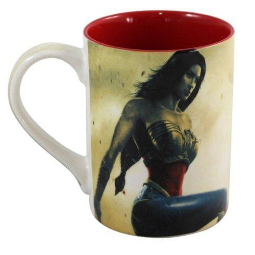 Caneca Reta Dream Mug 460ml Mulher Maravilha