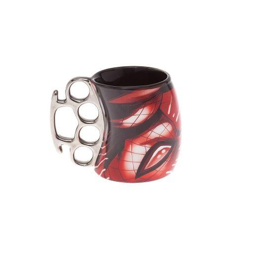 Caneca Soco Ingles Spider Man 350ml 20480/22225 Z-Criativa