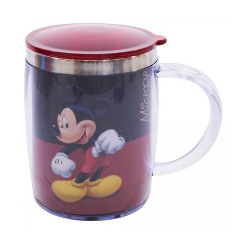 Caneca Térmica Preta e Vermelha Disney - Mickey