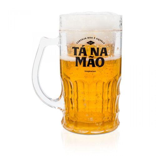 Caneco Congelavel Cerveja Ta na Mao