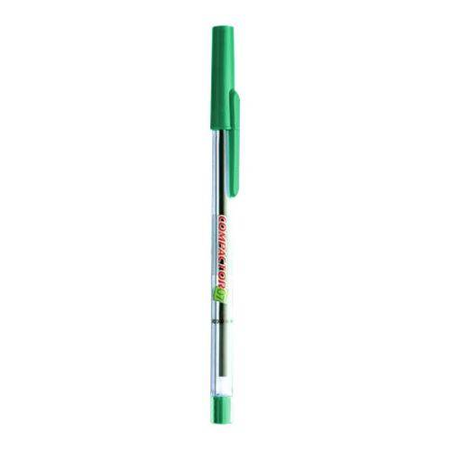Caneta Esferográfica Compactor 0.7 Verde-compactor