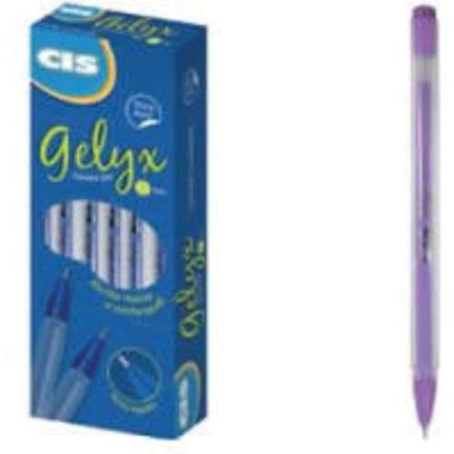 Caneta Gel Cis Gelyx Lilas 0.5mm Cx.C/12 Sertic