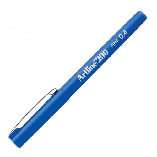 Caneta Hidrográfica 0.4mm EK-200 Artline Azul