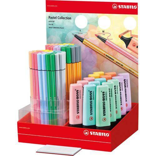 Caneta Stabilo 24/04-1 Boss/pen/point Pastel