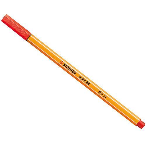 Caneta Stabilo Point 88/48 Fine 0,4 Light Red-sertic