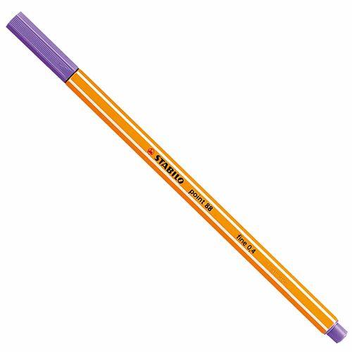 Caneta Stabilo Point 88/55 Fine 0.4 Violeta 1007134