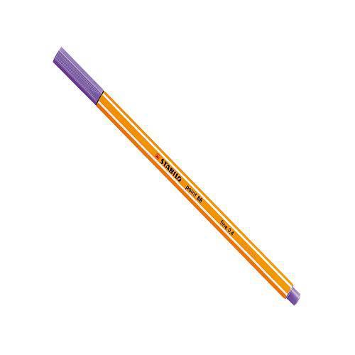 Caneta Stabilo Point 88 Fine 0,4 - Violeta