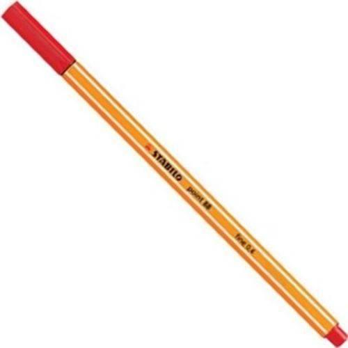 Caneta Stabilo Point 88 - Vermelho 88/40