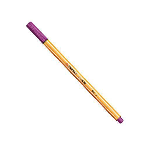 Caneta Stabilo Point 88 Violeta