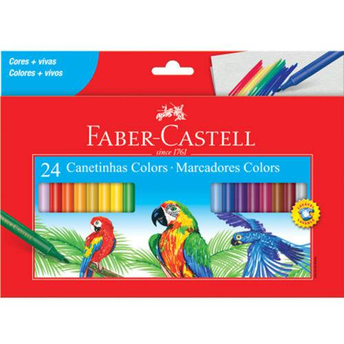 Canetinha Faber Castell 24 Cores