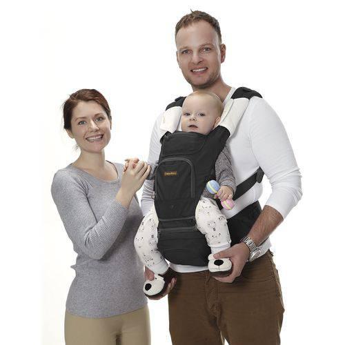 Canguru para Bebê Fisher Price Preto Multikids Baby - Bb310