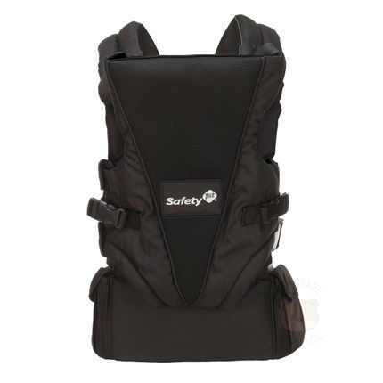 Canguru Uni-T Full Black (0-9 Meses) - Safety 1st