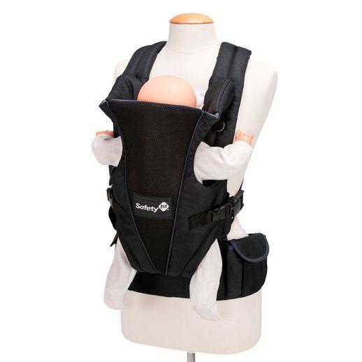Canguru Uni-T Full Black - Safety 1st Canguru Uni-T Full Black - Safety 1st