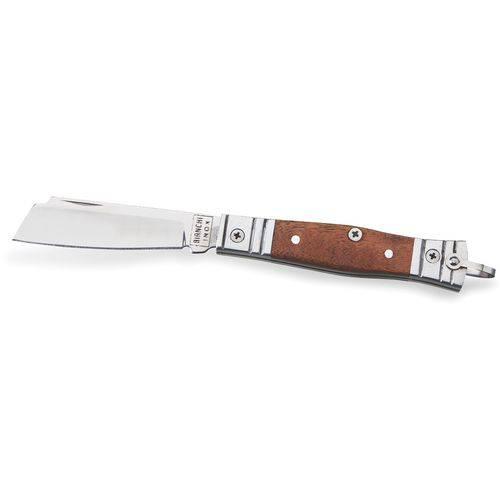 "Canivete Bianchi Tradicional Aluminio/madeira 3"" 10102/22"