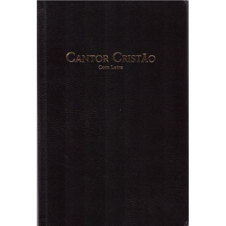 Cantor Cristão Capa Flexível Preto