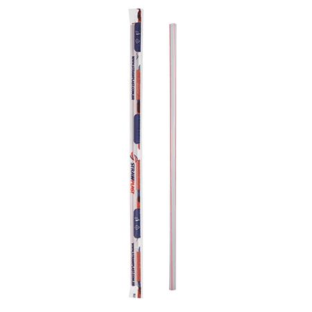 Canudo Plástico Tradicional Embalado - 100 Unidades