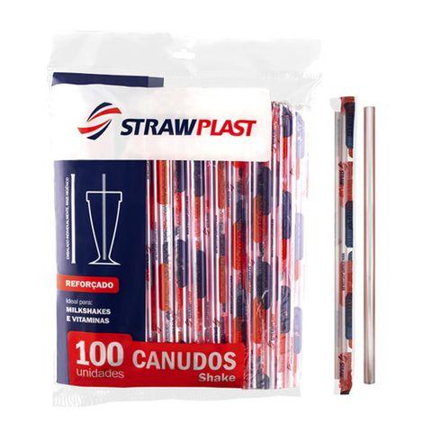 Canudo Shake C/100 - Strawplast