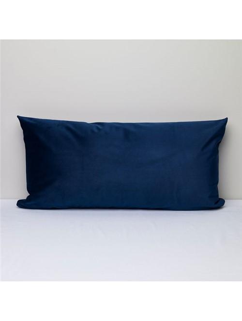 Capa Almofada Matte Azul 35X70cm