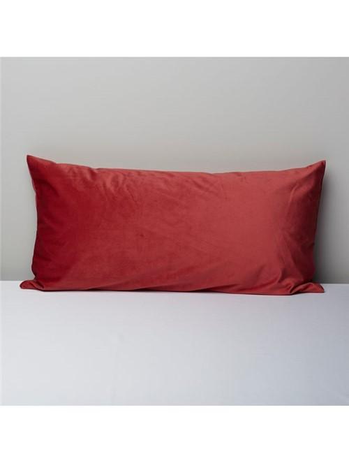 Capa Almofada Matte Vermelha 35X70cm