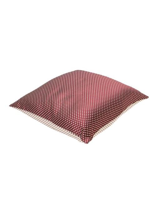 Capa Almofada Prince Dots - Bordo-bege - 50x50
