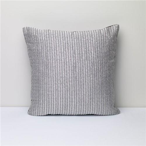 Capa Almofada Silver - Prata - 50x50