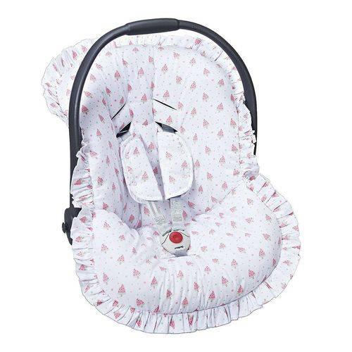 Capa Bebê Conforto Melancia 3 Peças