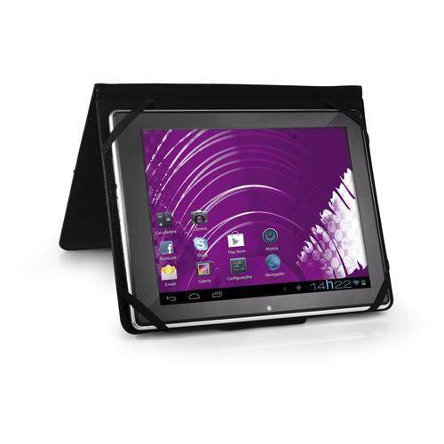 "Capa Case para Tablet Tela 7"" Universal Preto - BO182 - Multilaser"