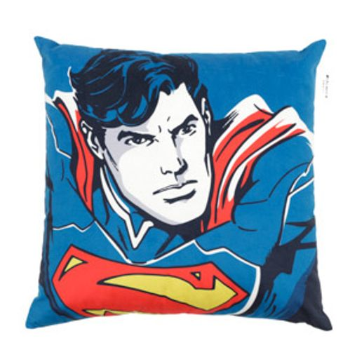 Capa de Almofada Azul 45x45cm Superman Urban