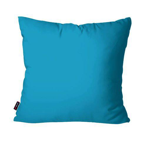 Capa de Almofada Decorativa Avulsa Azul