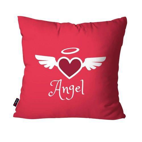 Capa de Almofada Decorativa Avulsa Pink Angel